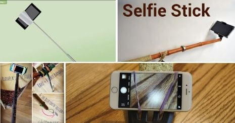 DIY Selfie Sticks