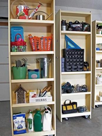 DIY Storage Shelves Plans