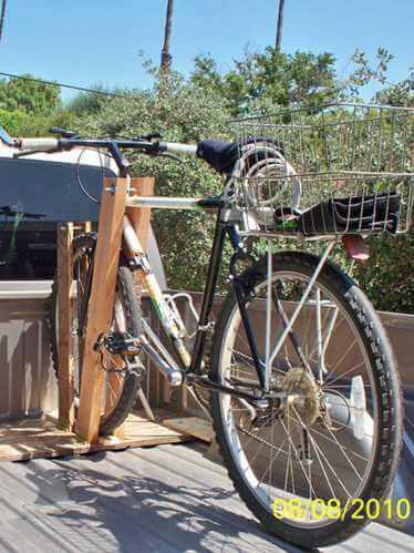 DIY Truck Bed Bike Rack Plans