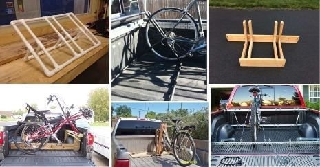 DIY Truck Bed Bike Rack