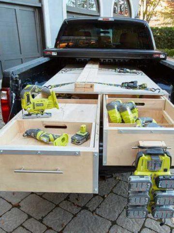 DIY Truck Bed Storage Plans