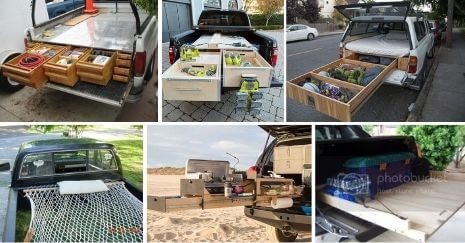 DIY Truck Bed Storage