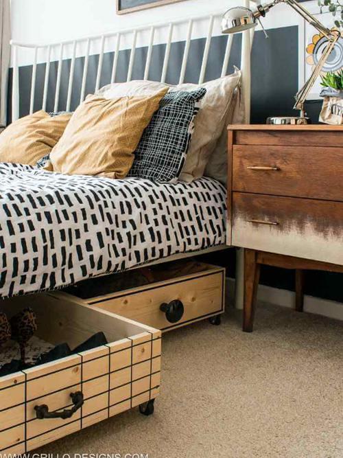 DIY Under Bed Storage Ideas