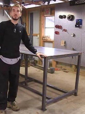 DIY Welding Table Plans