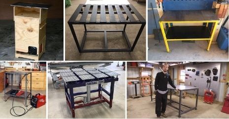 DIY Welding Table Plans