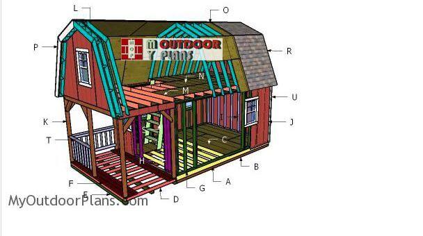 1. DIY 12x22 Small Cabin Plans