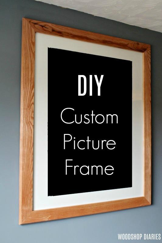 1. DIY Custom Picture Frame