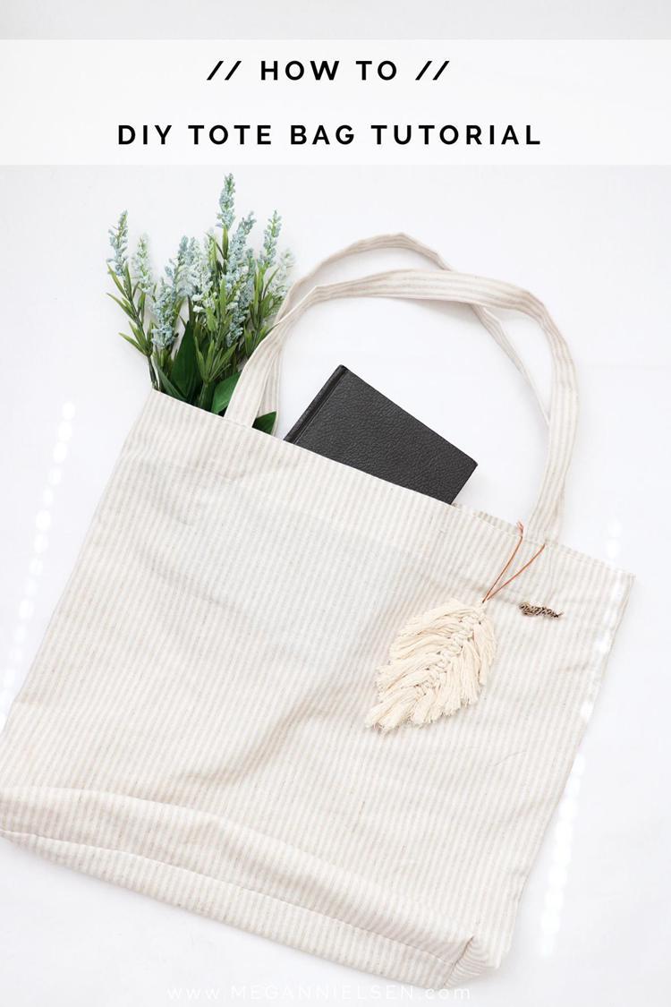 1. How To Make A DIY Tote Bag