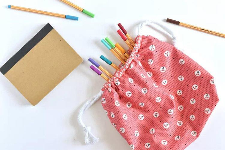 1. How To Sew A Drawstring Bag