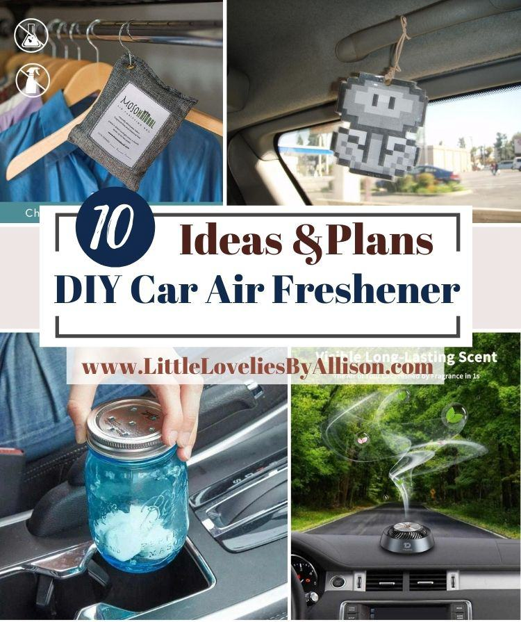 10 DIY Car Air Freshener Projects That Will Make Your Car Irresistible