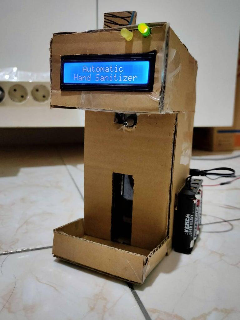 10. DIY Automatic Hand Sanitizer