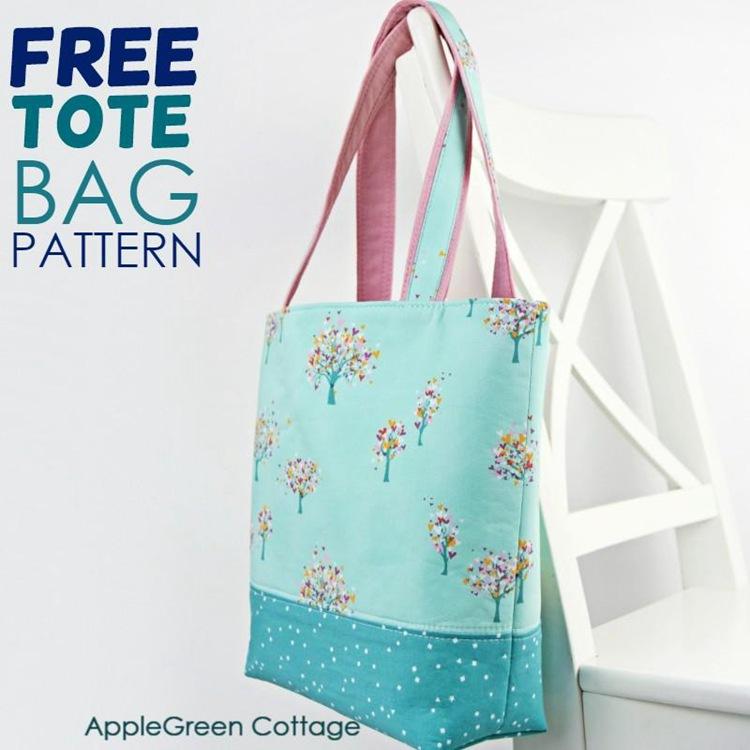 10. DIY Tote Bag Pattern