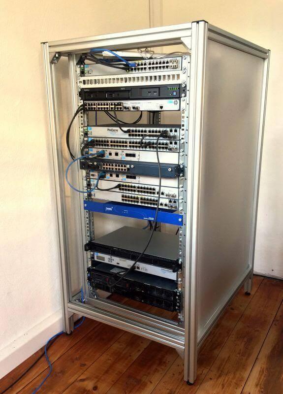 11. How To Build a 19″ Server Rack