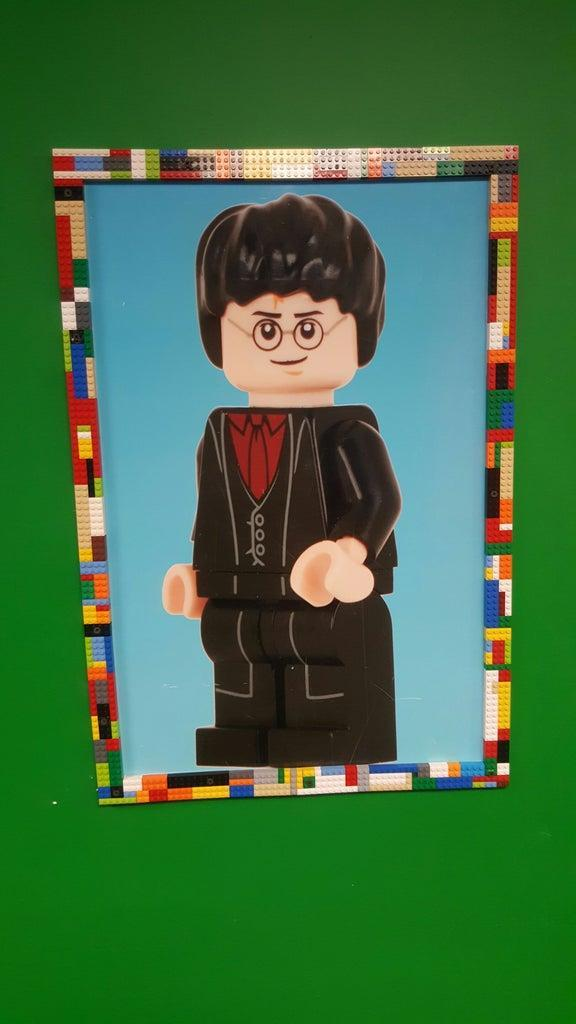 12. DIY Lego Picture Frame