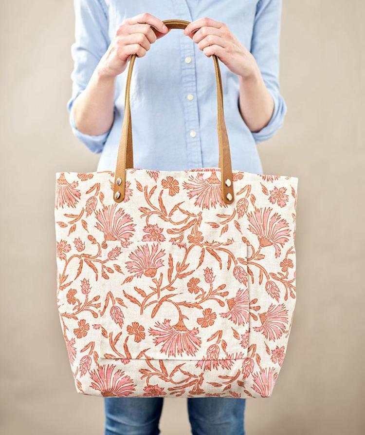 12. DIY Market Bag
