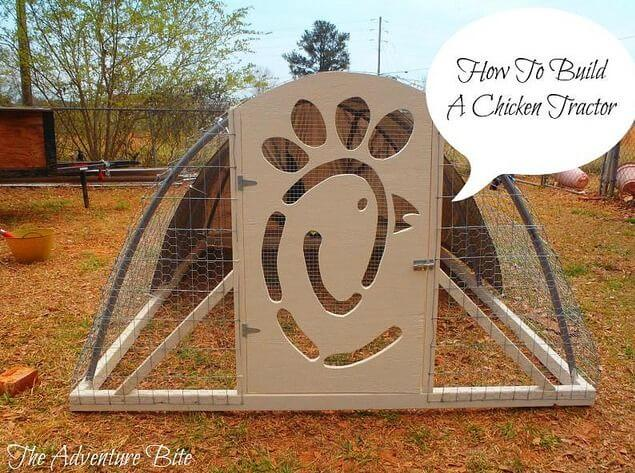 12. How To Build A Chicken Tractor