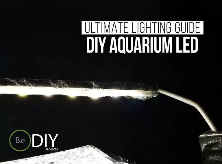 13. DIY Aquarium LED