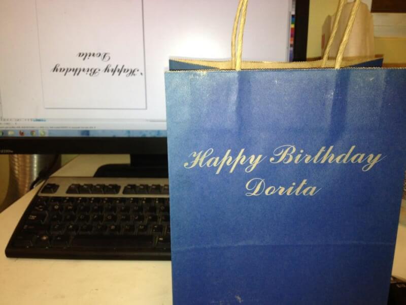 13. DIY Custom Gift Bag With Laser