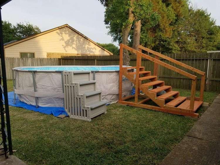 13. DIY Pool Ladder