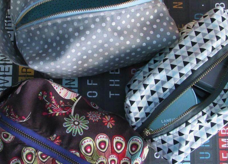 13. DIY Travel Makeup Bag