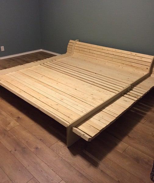 14. DIY Plywood Sofa Bed