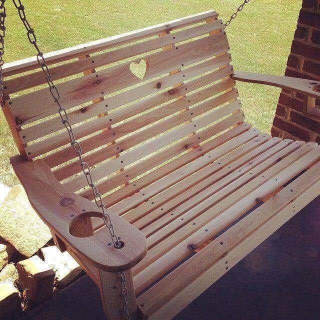 14. DIY Porch Swing