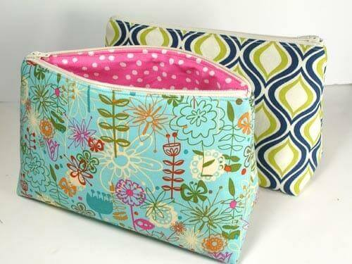 14. Easy Cosmetics Bag Pattern