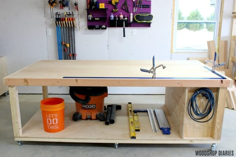 14. How To Build A DIY Mobile Workbench