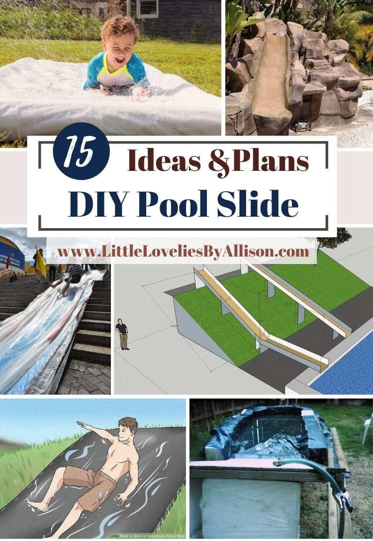 15 DIY Pool Slide Ideas_ How To Make A Backyard Water Slide