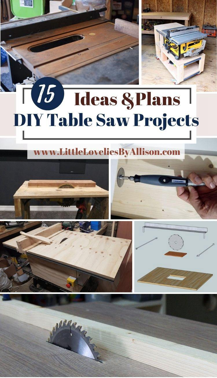 15 DIY Table Saw Projects_ How To Make A Homemade Table Saw