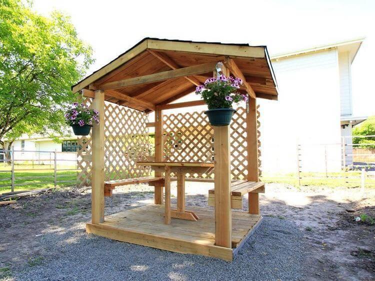 15. DIY Backyard Gazebo
