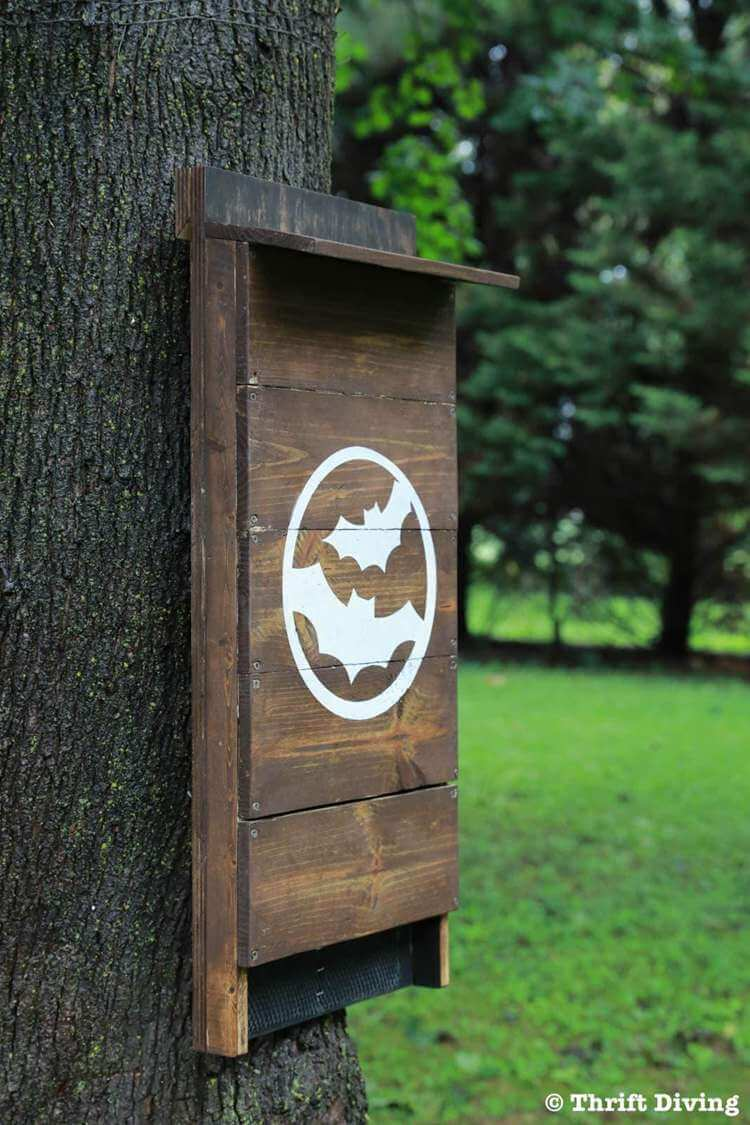 15. DIY Bat House For Backyard
