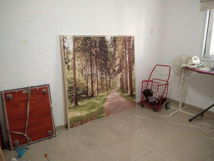 15. DIY Canvas Wall Frame