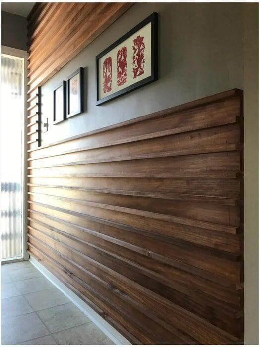 15. DIY Wood Slat Wall