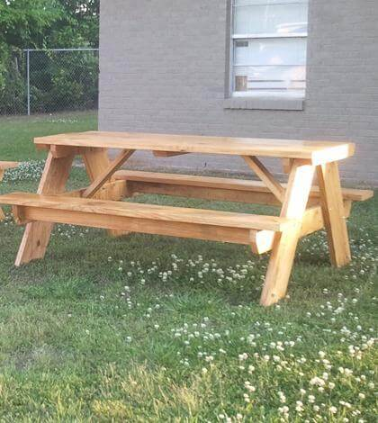 15. How To Build A 6 Foot Picnic Table