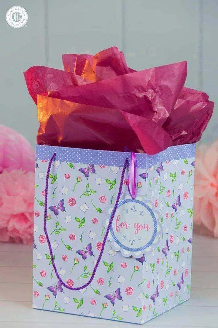 15. How To Craft A DIY Gift Bag