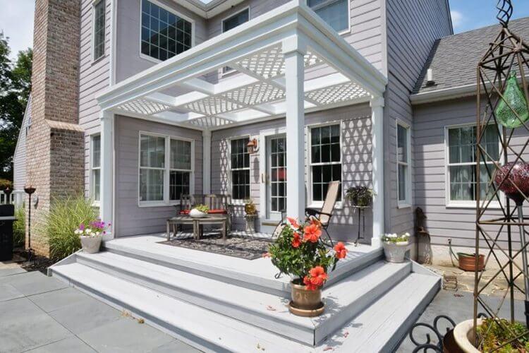 16. Free Deck Plans With Pergola DIY