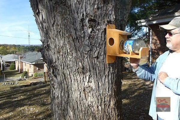 16. How To Make A Squirrel Feeder