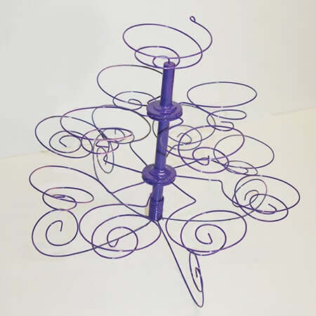 16. How To Make A Wire Cupcake Stand