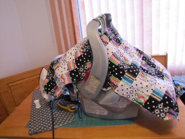 17. DIY Quilted Car Seat Cover