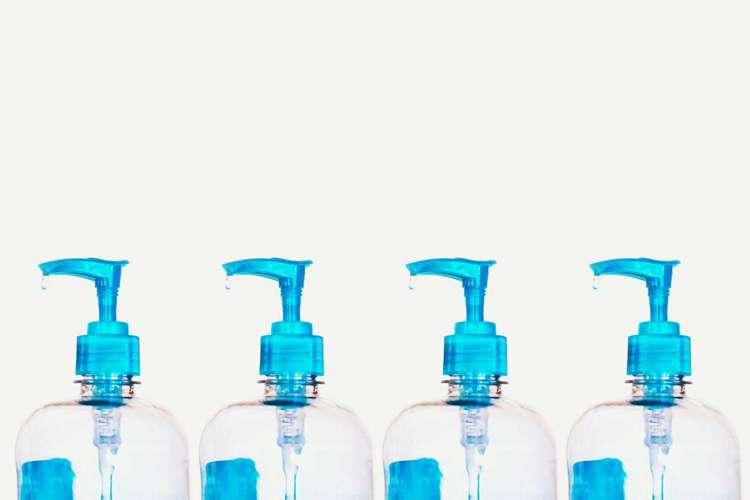 17. Homemade Hand Sanitizer DIY