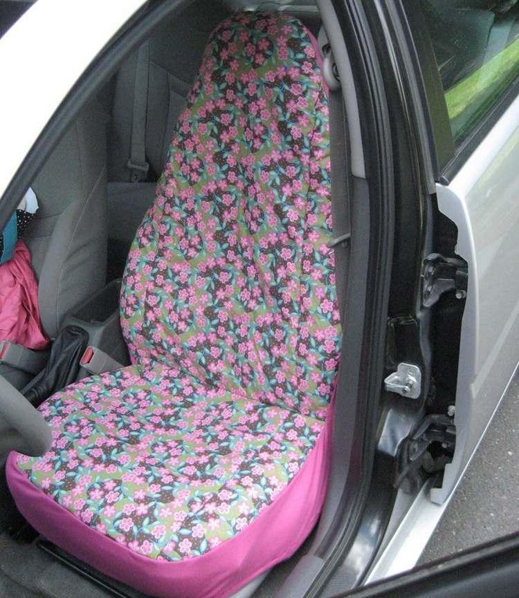 18. DIY Car Seat Cover