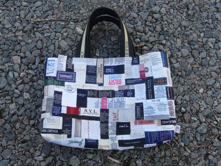 18. DIY Ironic Tote Bag