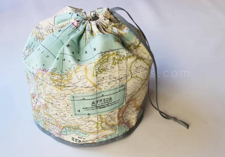 18. DIY Travel Bag Tutorial