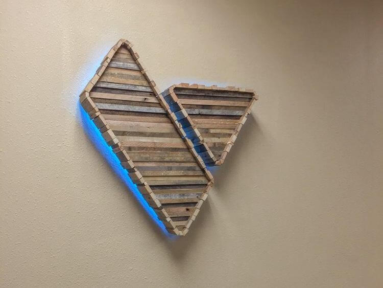 18. Wood LED Logo Sign DIY