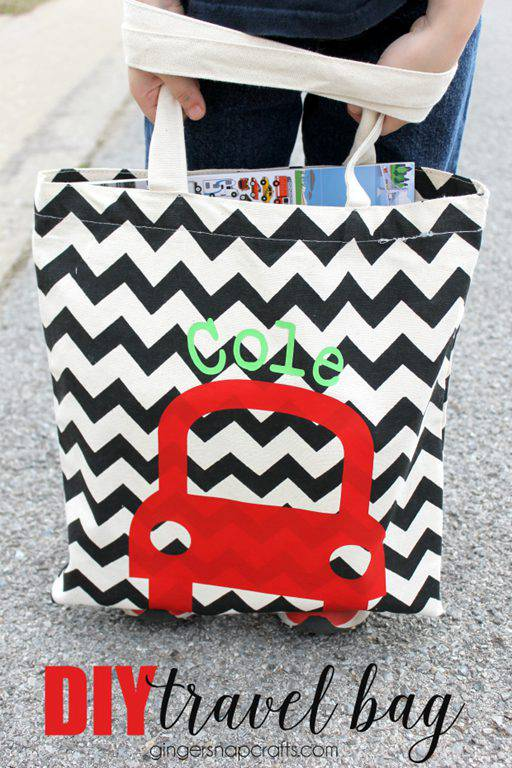 19. DIY Travel Bag For Kids