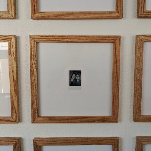 19. DIY Wood Picture Frame