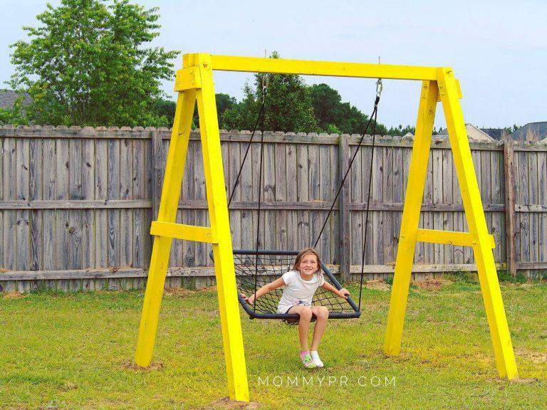 19. How To Build An A-Frame Swing Set