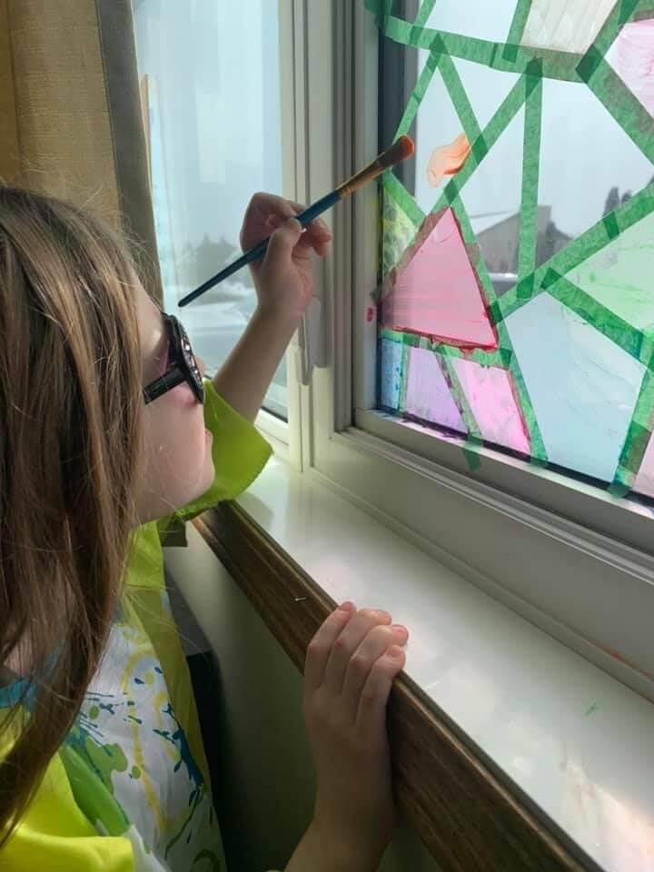 19. How To Paint Your Own Stained Glass Windows