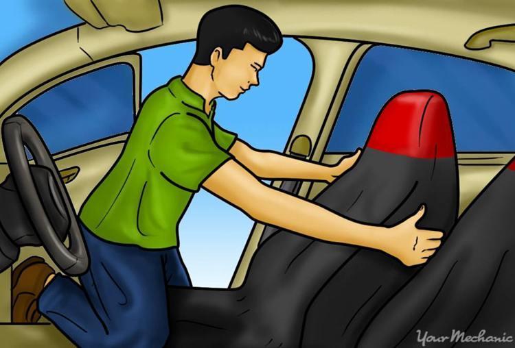 2. DIY Car Seat Covers